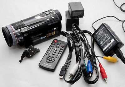 Panasonic HDC-TM900 Video Recorder with an extra high-capacity battery!