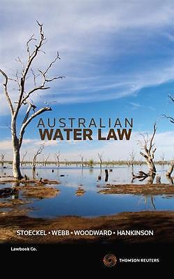 NEW Australian Water Law By Kate Stoeckel Paperback Free Shipping