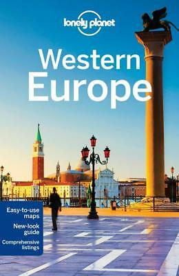 NEW Western Europe By Lonely Planet Travel Guide Paperback Free Shipping
