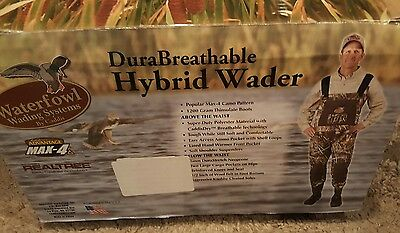 Caddis Realtree Waterfowl Wading Systems DuraBreathable Hybrid Wader Size 12