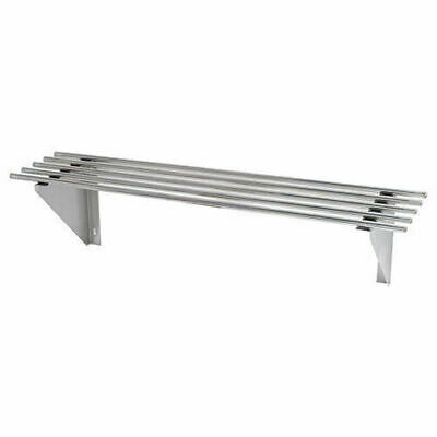 Wall Shelf, Pipe, Stainless Steel, 1500x300x300mm, Kitchen Shelving / Shelves