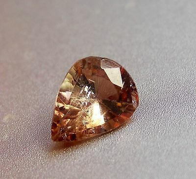 0.76cts Beautiful Champagne color change natural Axinite loose gemstone