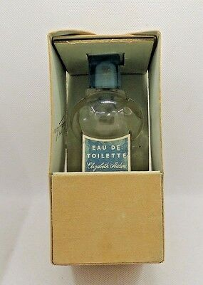 Blue Grass by Elizabeth Arden  Pure Perfume Feather Bottle RARE Made in France