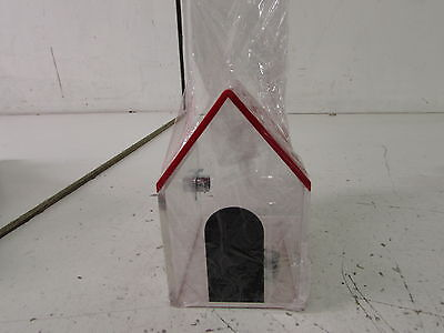 SourceOne Large House Shape Donation Box- Red - largehouse