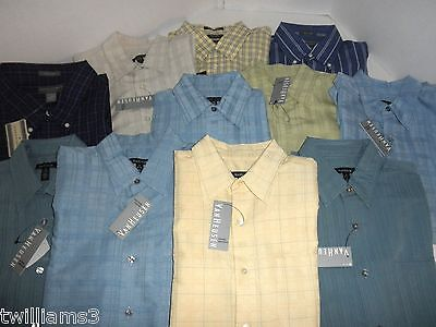 NWT $522 WHOLESALE LOT 11 Mens Casual Shirts: S M XL 3X, CHAPS Van Huesen ...