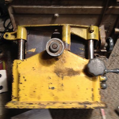 Vintage Bench Top Belt Drive Table Saw  No Brand