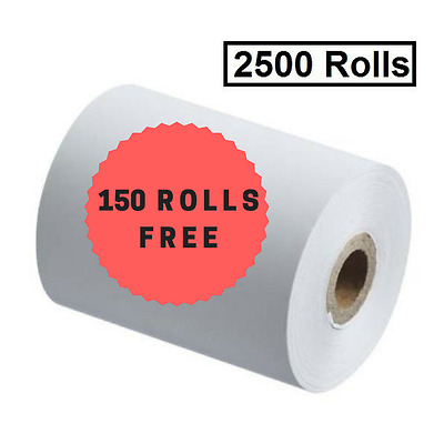 2500 57x40mm Thermal Rolls ANY EFTPOS, Receipt Rolls ($0.27 per roll)