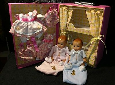 Effanbee Patsy Babyettes 1996 case bunk beds extra outfits shoes **very sweet**