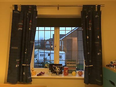 Next Boys Curtains And Lamp