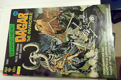 Dagar the Invincible #1 and 2(Oct 1972, Western Publishing)