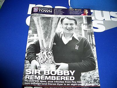 Ipswich Town V Newcastle United Programme 26Th September 2009