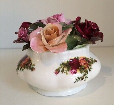 """Vintage ROYAL ALBERT """"Old Country Roses"""" Fragrant Floral Bouquet"""