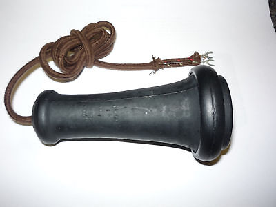 Antique Telephone Replacement Receiver Works w/cordage