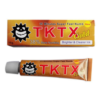 Tattoo Creme TKTX 38% MORE NUMBING CREAM PIERCING PERMANENT