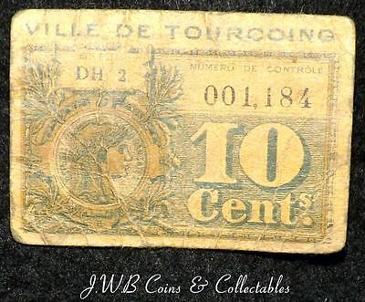 France 10 Cents Small Banknote Emegency Issue - Ref ; D/B.