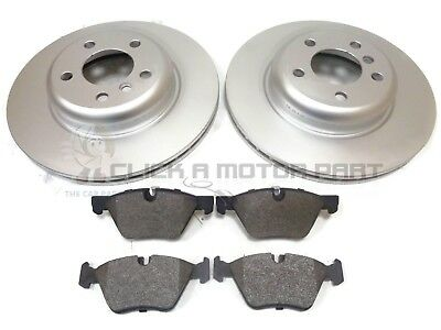 BMW F10 F11 518D 520i 520D 2011-2015 FRONT 2 BRAKE DISCS & PADS SET (CHECK SIZE)
