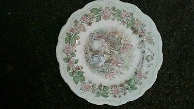 Royal doulton brambly hedge Four seasons plate Summer