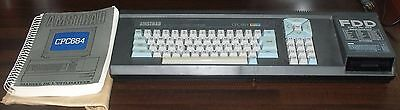 CLAVIER AMSTRAD CPC 664 SEULEMENT,MANUEL, BOITE,QWERTY ,amstrad CPC 464,6128+