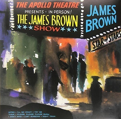 JAMES BROWN-Live At The Apollo  VINYL NEW