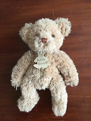 Doudou Ours Histoire D'ours Beige Neuf