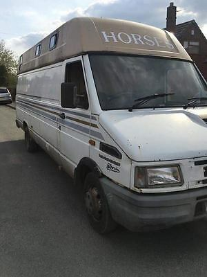 Ford Iveco Daily 3.5 Horsebox Spares Repair project