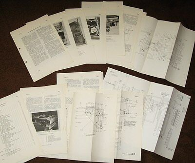 BBC data sheets  Vintage RP2/1 and RP2/6 record players gramaphone broadcasting