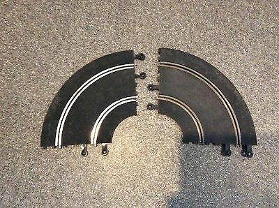 Lot Of Scalextric Classic Track 2 PT56 90 Degree Curves Fair Condition