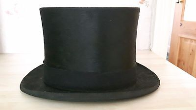 Dunn & Co Vintage Silk Top Hat