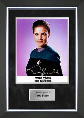 Terry Farrel Signed Photo Star Trek Deep Space Nine Signed Photo