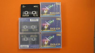 Lot 6 Cassettes Dg3-125 / 4Mm Data Tape De Fujifilm Sous Blister