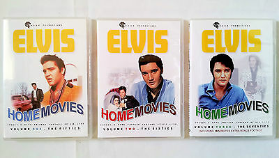 Elvis Home Movies 3 DVD Final Curtain Fashion For a King FTD a boy from Tupelo
