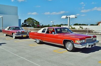 1976 Cadillac DeVille 2 Door Coupe 1 OWNER SINCE NEW - 17,000 ACTUAL MILES - ALL ORIGINAL - MINT!!!!