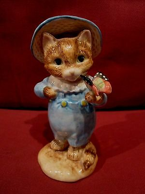 Highly Collectable Border Fine Arts Beatrix Potter Tom Kitten A2438 Figurine