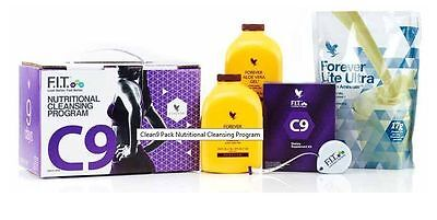 Forever Living Clean 9 (C9) Natural Cleanse Detox Programme Brand New Vanilla