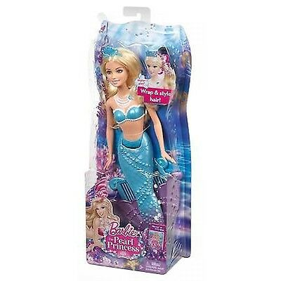 Barbie The Pearl Princess Mermaid Doll Blue - Brand New - Fast Postage