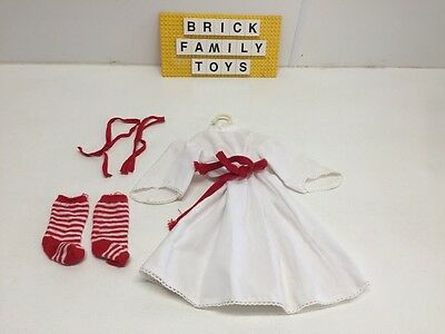 American Girl KIRSTEN Christmas St. Lucia DRESS PLEASANT COMPANY RETIRED