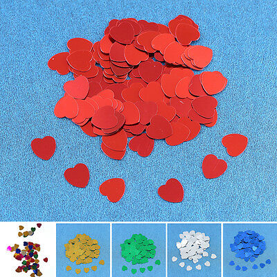 1000x Love Heart Confetti Table Decor Wedding Valentine Birthday Party Decoratio