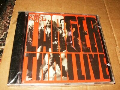 Keel Larger Than Live Brand New CD,Sealed,Canada.