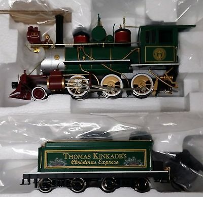 "Bachmann ""thomas Kinkades' Christmas Express"" Ho Scale Train Set"