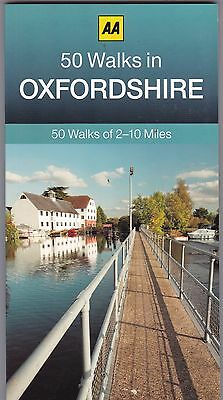 50 Walks in Oxfordshire by AA Publishing (Paperback) New Book