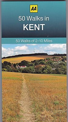 50 Walks in Kent by AA Publishing (Paperback) New Book
