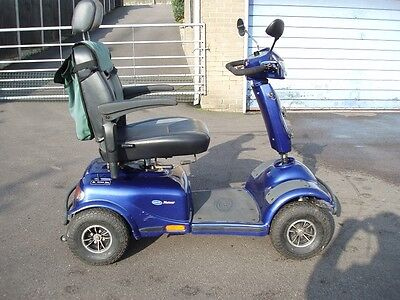 LARGE INVACARE METEOR 8mph MOBILITY SCOOTER