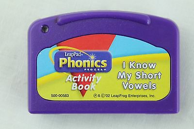 Leap Frog LeapPad I KNOW MY SHORT VOWELS Cartridge ONLY