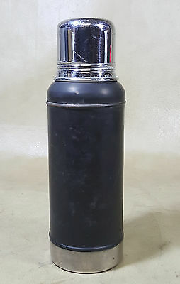 Antique Stanley THERMOS Ferrostat Cobalt Blue Liner 1913