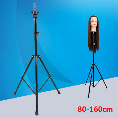 Hot Adjustable Tripod Hairdressing Training Head Mold Mannequin Salon Hair Clamp