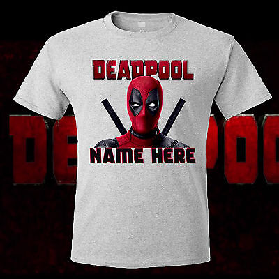 Deadpool T-shirt Kids New Personalized T Shirt Birthday Gift