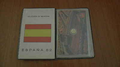 1982 World Cup Spain Coin Collection - Espana Mundial 82 Serie Numismatica Barca