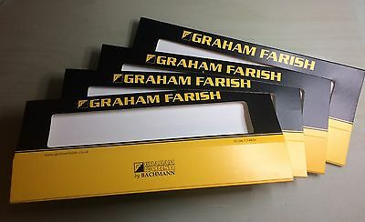N gauge Graham Farish Outer Card Slips for Loco/Large wagon Perspex Boxes - New!