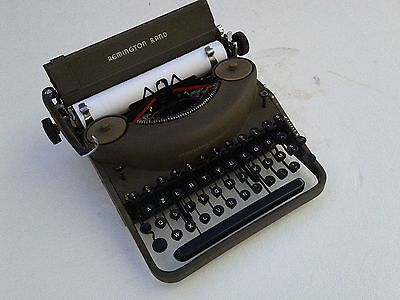 MACCHINA DA SCRIVERE Remington Noisless Typewriter Schreibmaschine