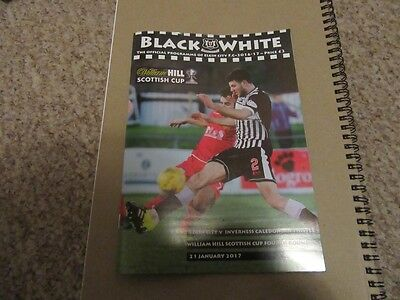 Elgin City v Inverness Caledonian Thistle - Scottish Cup - 21st January 2017